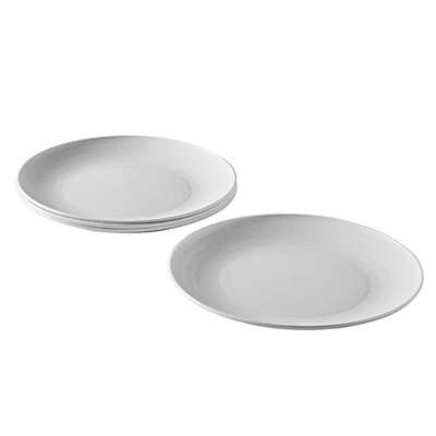 Nordic Ware® Everyday Plates in Off-White (Set of 4)