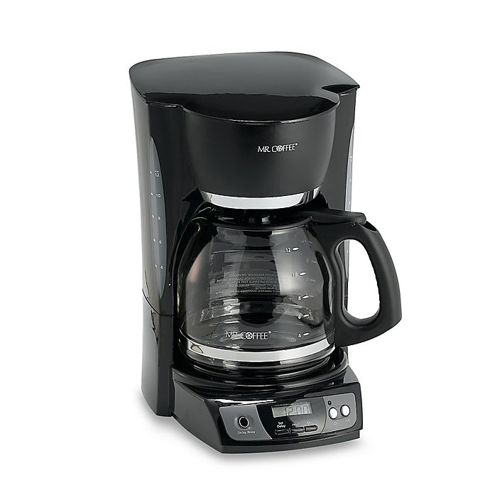Mr Coffee 12 Cup Programmable Coffee Maker Bed Bath Beyond