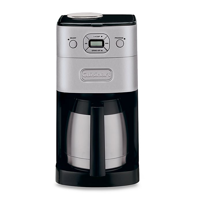 Alternate image 1 for Cuisinart® Grind & Brew Thermal™ 10-Cup Automatic Coffee Maker