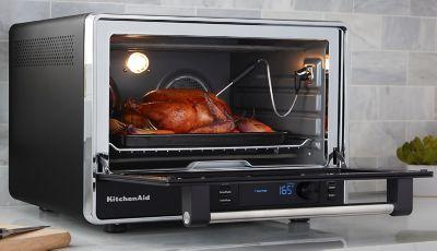 Kitchenaid Dual Convection Countertop Oven In Black Matte Bed Bath Beyond