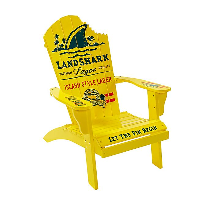 Alternate image 1 for Margaritaville® Landshark Adirondack Chair in Yellow