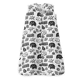 HALO® SleepSack® Medium King Cotton Muslin Wearable Blanket in White/Black
