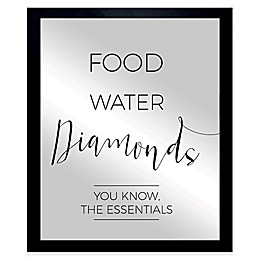 Oliver Gal The Essentials Framed Printed Mirror Wall Art