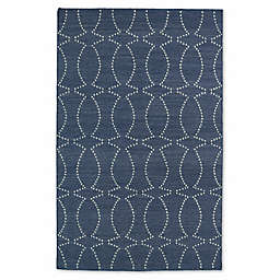 Kaleen Glam Pin Dot 9-Foot x 12-Foot Area Rug in Grey