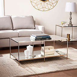 Southern Enterprises Knox Cocktail Table in Gold