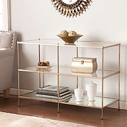 Southern Enterprises Knox Occasional Table Collection in Gold