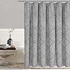 Tulum Shower Curtain in Grey