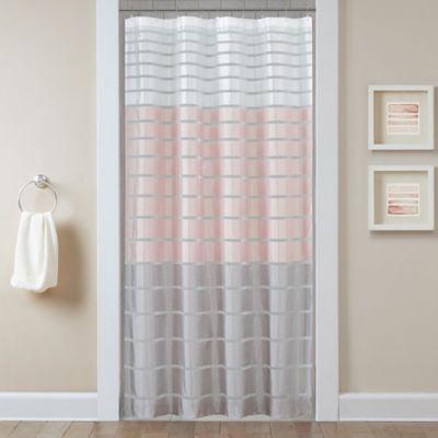 Demi Stall Shower Curtain In Blush Bed Bath Beyond