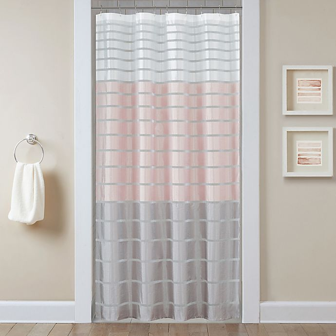 Demi Stall Shower Curtain In Blush