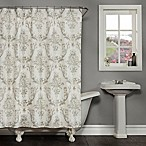 Fonseca Shower Curtain in Ivory