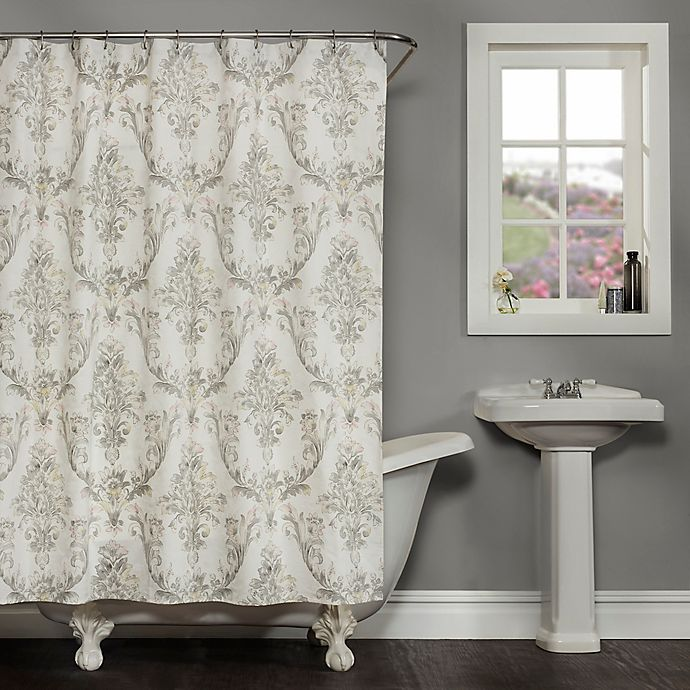 Alternate image 1 for Fonseca Shower Curtain in Ivory