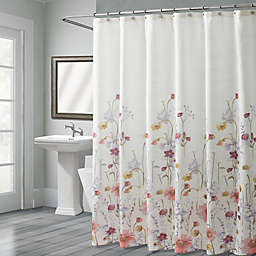 Croscill® Pressed Flowers 72-Inch x 72-Inch Shower Curtain