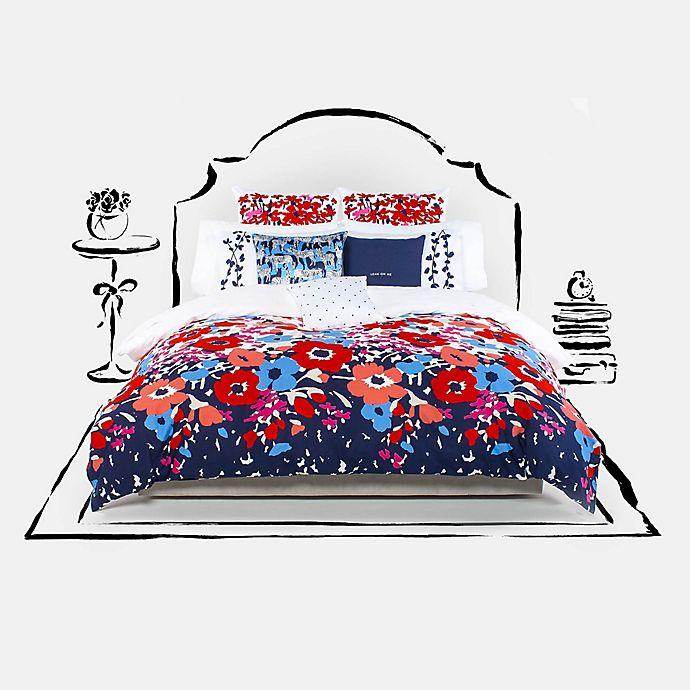 Alternate image 1 for kate spade new york Poppy Fields Mini Comforter Set