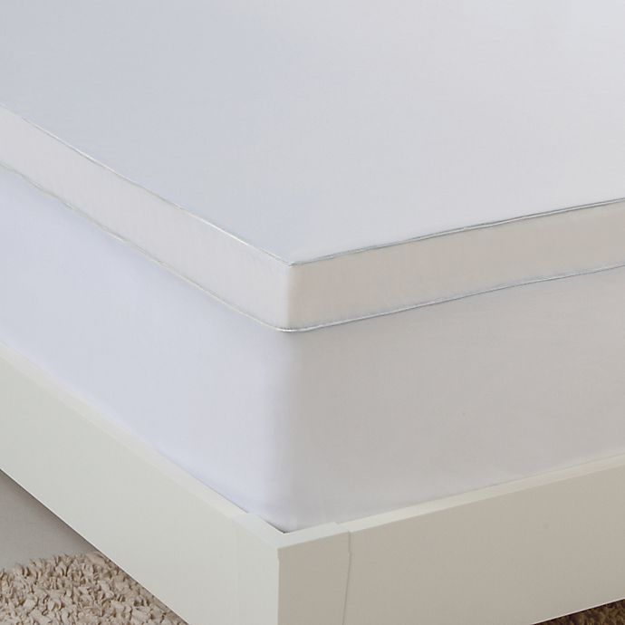 bed bath and beyond foam mattress topper Hydraluxe Gel Memory Foam Mattress Topper | Bed Bath & Beyond bed bath and beyond foam mattress topper