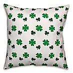 Designs Direct St. Patrick's Shamrock Throw Pillow
