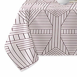 Deny Designs Marais Tablecloth in Burgundy