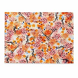 Deny Designs Floral Forest Placemat in Orange (Set of 4)