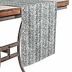Deny Designs Herring Table Runner in Black