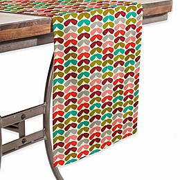 Deny Designs Annika 90-Inch Table Runner in Red