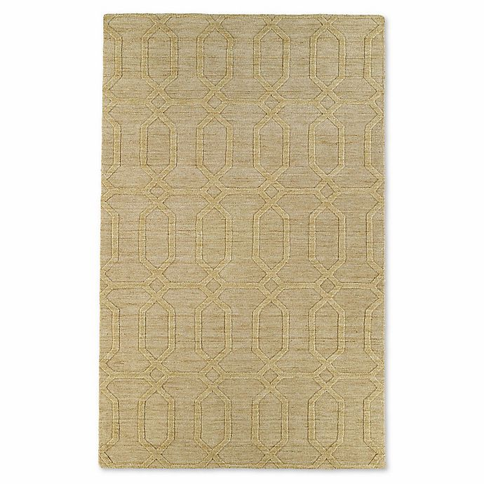 Alternate image 1 for Kaleen Imprints Modern Loft 9-Foot 6-Inch x 13-Foot 6-Inch Area Rug in Yellow