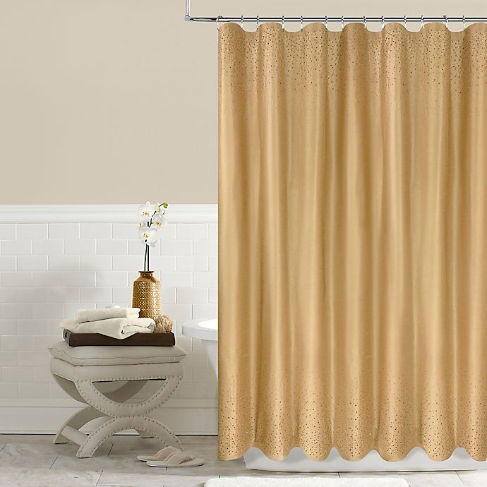 Buy Twilight 54 Inch X 78 Inch Shower Curtain In Gold From