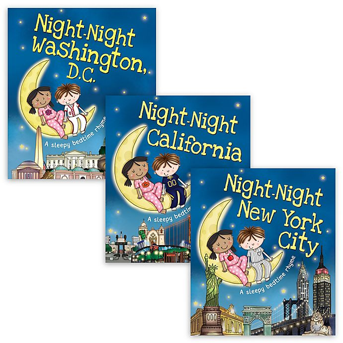 Alternate image 1 for Night-Night Bedtime Story Books by Katherine Sully