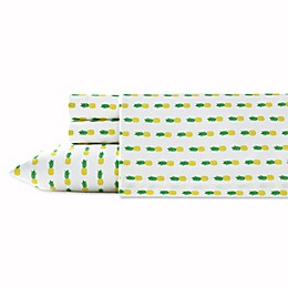 Poppy & Fritz® Pineapples Twin XL Sheet Set in Yellow