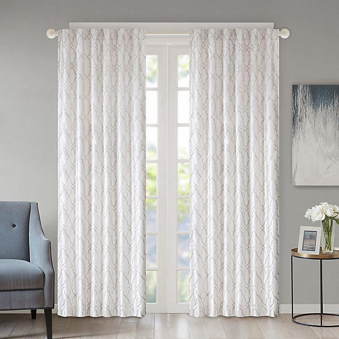 Regency Heights Kendall Rod Pocket Back Tab Window Curtain