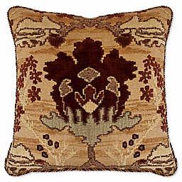 Austin Horn Classics Dakota Square Throw Pillow in Rust/Burgundy