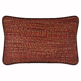 Austin Horn Classics Dakota Boudoir Throw Pillow in Rust/Burgundy