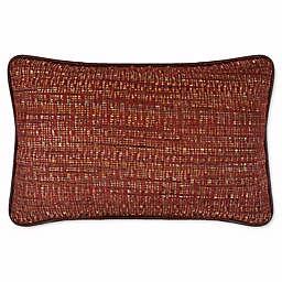 Austin Horn Classics Dakota Boudoir Throw Pillow in Rust/Burgundy