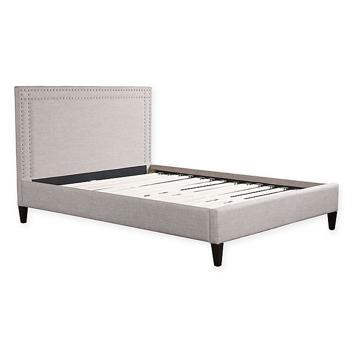 Alternate image 1 for Zuo® Renaissance Platform Bed in Dove Grey