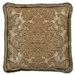 Austin Horn Classics San Tropez Square Throw Pillow in Chocolate