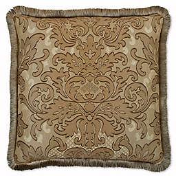 Austin Horn Classics San Tropez Square Throw Pillow in Chocolate