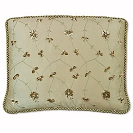 Austin Horn Classics San Tropez Cord Boudoir Throw Pillow in Rust