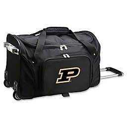 Purdue University 22-Inch Wheeled Carry-On Duffle Bag