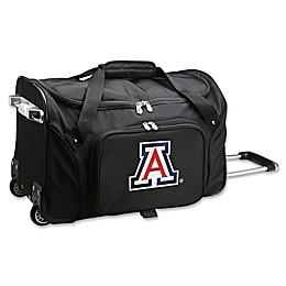 University of Arizona 22-Inch Wheeled Carry-On Duffle Bag