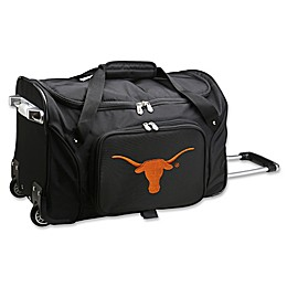 University of Texas 22-Inch Wheeled Carry-On Duffle Bag