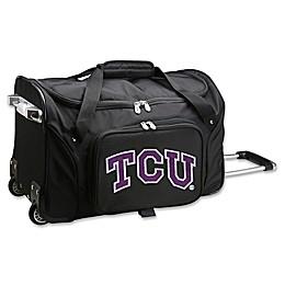 Texas Christian University 22-Inch Wheeled Carry-On Duffle Bag