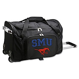 Southern Methodist University 22-Inch Wheeled Carry-On Duffle Bag