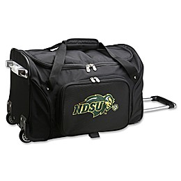 North Dakota State University 22-Inch Wheeled Carry-On Duffle Bag