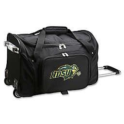 North Dakota State University 22-Inch Wheeled Carry-On Duffle Bag