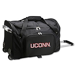 University of Connecticut 22-Inch Wheeled Carry-On Duffle Bag