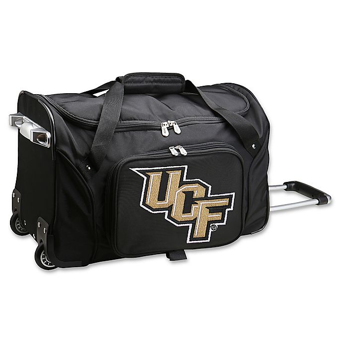 Alternate image 1 for University of Central Florida 22-Inch Wheeled Carry-On Duffle Bag