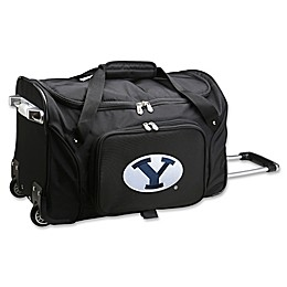 Brigham Young University 22-Inch Wheeled Carry-On Duffle Bag