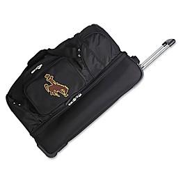 University of Wyoming 27-Inch Drop Bottom Rolling Duffle Bag