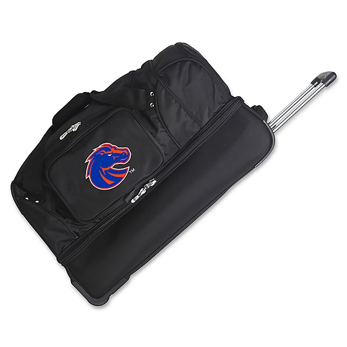 Boise State University 27 Inch Drop Bottom Rolling Duffle