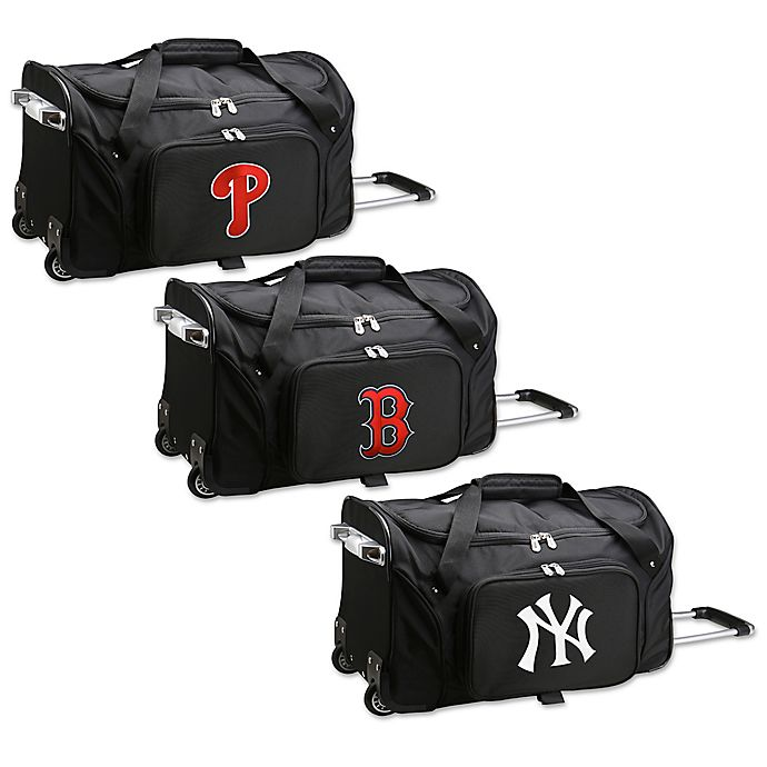 Alternate image 1 for MLB 22-Inch Wheeled Duffle Bag