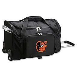 MLB Baltimore Orioles 22-Inch Wheeled Duffle Bag