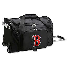 MLB Boston Red Sox 22-Inch Wheeled Duffle Bag